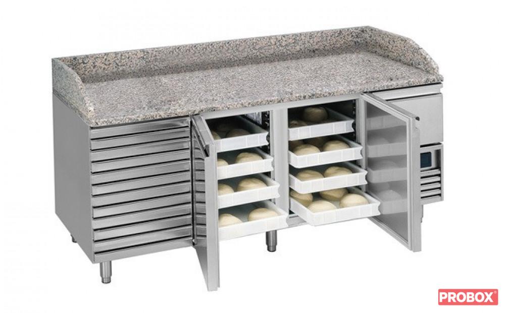 Ogromnie Stół chłodniczy do pizzy L6-1470 Mercatus   Mercatus, L6-1470 AB37
