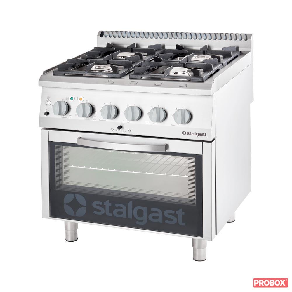 Kuchnia Gazowa 4 Palnikowa Z Piekarnikiem Elektrycznym 22 5kw G20