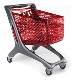 Wózek plastikowy sklepowy Midi Basic 160 L Rabtrolley