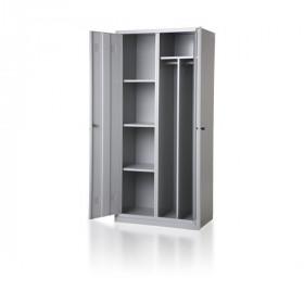 Metalowa szafa socjalna ubraniowa BHP 800/2UP