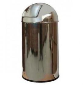 Kosz na śmieci push - pojemnik na śmieci przed sklep, do cukierni itp. - WYPRZEDAŻ