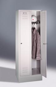 Szafa ubraniowa dwusegmentowa 60-tka C + P
