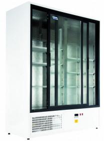 Szafa chłodnicza Mawi SCHCC 1600 SGD (SCH 1400R) - drzwi przeszklone przesuwne