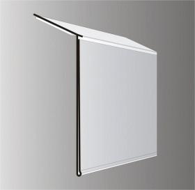 Listwa cenowa LC-HE 39mm z taśmą samoprzylepną biała 100cm