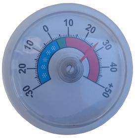 Termometr HACAP; do lady chłodniczej Rapa oryginalny, przyklejany