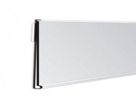 Listwa cenowa samoprzylepna 100 cm biała DBR 39