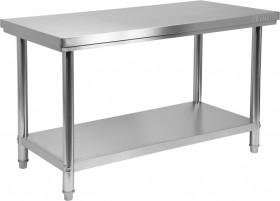 Stół nierdzewny z półką 1200×600×H850mm Yato Gastro