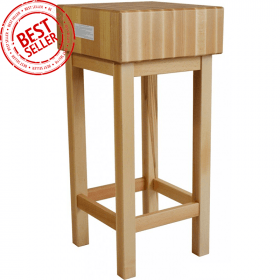 Pieniek Kloc masarski, rzeźniczy drewniany PROBOX 400x400x800 mm