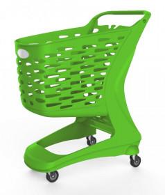 Wózek plastikowy sklepowy Rabtrolley 80 L