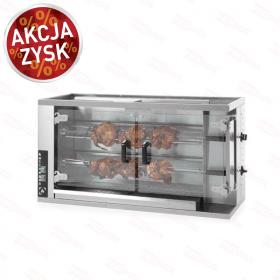 Opiekacz gastronomiczny Rożno gazowe na 8-10 kurczaków Hendi 226063