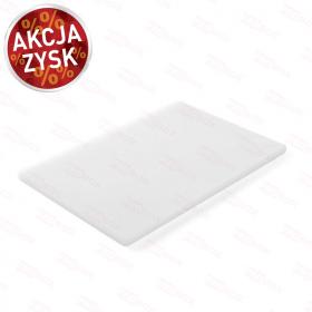Deska do krojenia HACCP 450x300 biała do nabiału