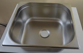 Umywalka nierdzewna - tanio, food truck - GN 2/3 150