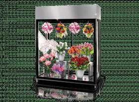 Przeszklona szafa chłodnicza do kwiaciarni - na kwiaty Rapa SCh-AK 1600