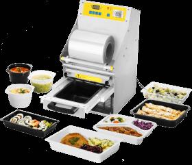 Półautomat zgrzewający do cateringu dietetycznego M-C-S tss 102-R Metro Catering System