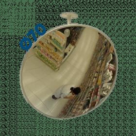 Lustro sklepowe nietłukące akrylowe Ø70 cm