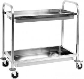 Wózek kelnerski 2-półkowy głęboki