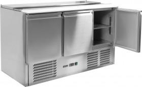 Stół chłodniczy sałatkowy 3-drzwiowy, 368L