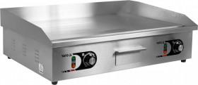 Gastronomiczna Elektryczna płyta grillowa gładka 2x2,2 kW, 73 cm