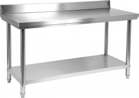 Stół nierdzewny z półką 1500x600xH850+100 mm Yato Gastro