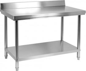 Stół nierdzewny z półką 800x600xH850+100 mm Yato Gastro
