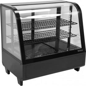 Witryna ekspozycyjna chłodnicza 100L 68x45x67 cm czarna Yato Gastro Hit