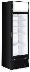 Witryna chłodnicza z podświetlanym panelem 1-drzwiowa 360 l
