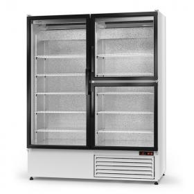 Szafa chłodnicza ekspozycyjna 2-drzwiowa Rapa Sch-S 1400/3D