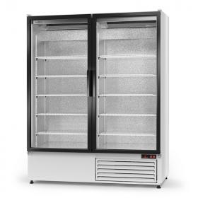 Szafa 2-drzwiowa chłodnicza przeszklona Rapa Sch-S 1400