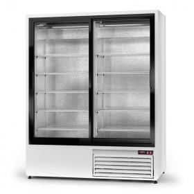 Szafa chłodnicza przeszklona; drzwi przesuwne Rapa SCh-SR 1600