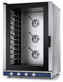 Piec konwekcyjno-parowy manualny z sondą – 10x GN 1/1 lub pojemników piekarniczych