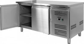 Stół chłodniczy gastronomiczny 228L, 2-drzwiowy