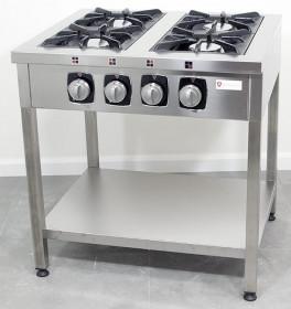 Kuchnia gazowa wolnostojąca 4-palnikowa, 32,8kW