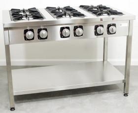 Kuchnia gazowa wolnostojąca 6-palnikowa, 49,2kW