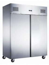 Gastronomiczna szafa chłodnicza zapleczowa nierdzewna 2-drzwiowa 1200L ARKTIC Hendi 235188