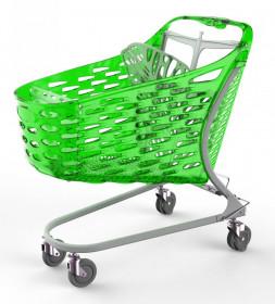 Wózek sklepowy Samba GLAMOUR 130L