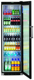 Profesjonalna szafa chłodnicza, chłodziarka do butelek, Liebherr - FKDv 4523 Black