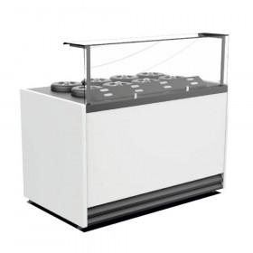 Dystrybutor do lodów Apollo - Cebea, 915x800x1480 mm