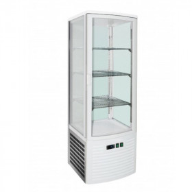 Witryna chłodnicza przeszklona - PXLSC235 - 4 półki