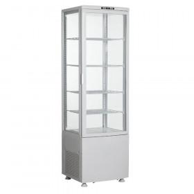 Witryna chłodnicza przeszklona 235L - 4 półki