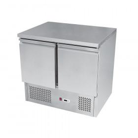 Stół chłodniczy 2-drzwiowy nierdzewny