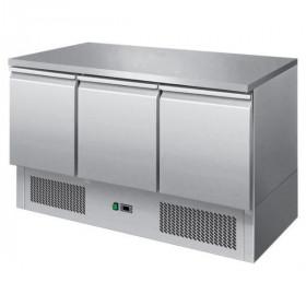 Stół chłodniczy 3-drzwiowy nierdzewny