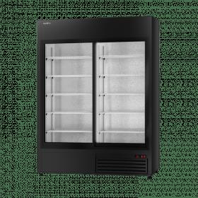 Szafa chłodnicza przeszklona - producent Rapa SCh SR 1600 WH Black