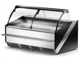 Lada chłodnicza supermarketowa Rapa L-S 197 cm Hit