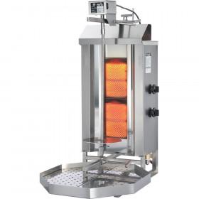 Gastronomiczny kebab gazowy, gyros, GD 2, P 7 kW, G 20