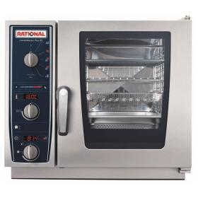 Profesjonalny piec konwekcyjno-parowy, elektryczny, Rational - CombiMaster Plus XS, 6 x GN 2/3