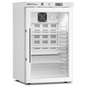 Chłodziarka farmaceutyczna poj. 30 l., drzwi ze szkła izolacyjnego, ARV 66 CS PV DIN - MARECOS