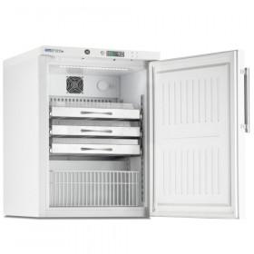 Chłodziarka farmaceutyczna, poj. 105 l., drzwi pełne stal , ARV 150 CS PO DIN - MARECOS