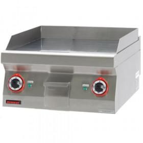 Płyta grillowa gładka 600 mm 8kW- Kromet, 700.PBE-600G