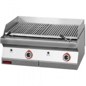 Lawa grill 800 mm 14kW, 700.OGL-800, Kromet