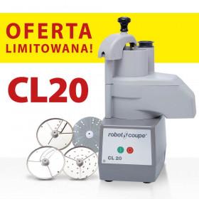 Szatkownica do warzyw, CL20 z 4 tarczami tnącymi, P 0.4 kW, U 230 V